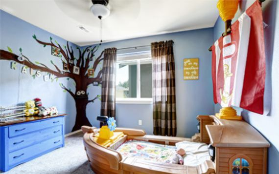Child Inspired Rooms